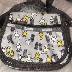 LeSportsac Poodle 🐩 Crossbody excellent condition